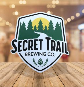 Secret Trail Beer Label