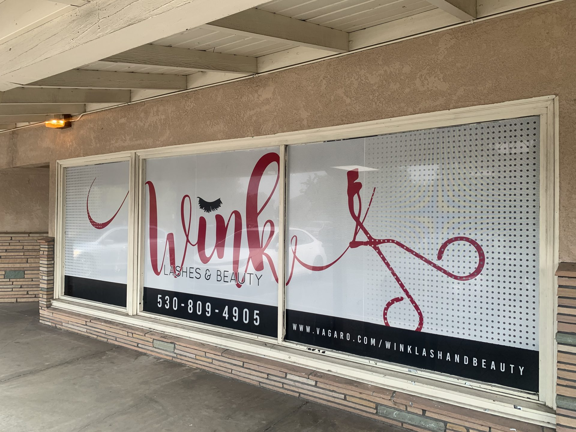 Wink Window Vinyl