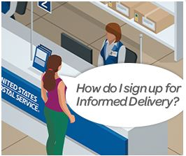 Sign up informed delivery