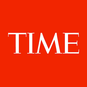 TIME logo regular Serif font